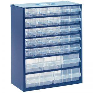 30 bin storage chest
