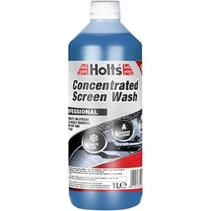 Concentrate-screenwash
